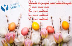 Kevadpühad Dorpat Tervises